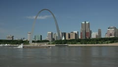 Saint Louis arch Stock Footage