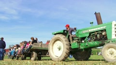 Hay Ride for the Kids Stock Footage