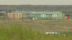 Calgary, Alberta Childrens hospital, long shot, #2 Stock Footage
