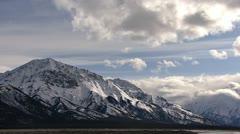 Intense Mountain Clouds over Kluane Lake 3 Stock Footage