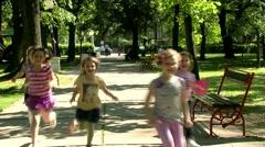Children 30 fps 006 Stock Footage
