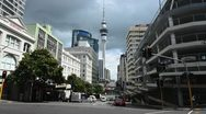 Stock Video Footage of Auckland city NZ 03