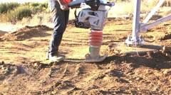 Ground pounder audio Stock Footage