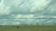 Drive Past Stonehenge - stock footage
