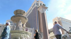 The Venetian Las Vegas - stock footage