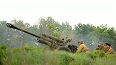 Artillery Stock Footage