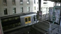 Australia - Sydney - Train Stock Footage