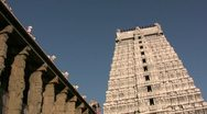 Stock Video Footage of Hindu temple in India