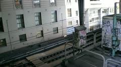 Australia - Sydney train Stock Footage