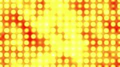 Yellow LED Light Wall Animation HD - stock footage