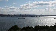 Bosporus Istanbul Stock Footage