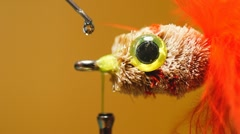 Fly Tying Glue Stock Footage