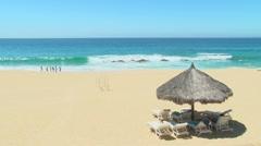 Sandy Paradise Beach 1 - stock footage