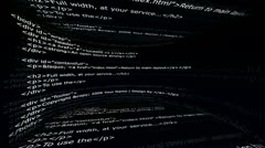 Html Web Code, Internet Concept 2 - HD1080 Stock Footage