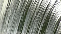Waterfall on Wesley Brook, Shropshire, England Stock Footage