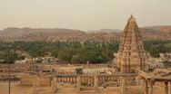 Stock Video Footage of Hampi Temple 02