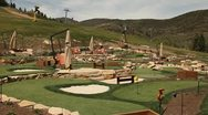 Stock Video Footage of Mini golf coarse2