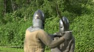 Stock Video Footage of medieval fighting 05