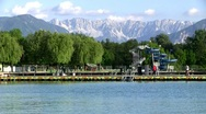 Wörthersee in Carinthia Stock Footage