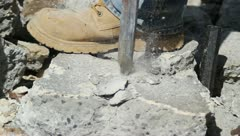 Jackhammer Stock Footage
