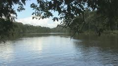 Suriname, Palumeu lake Stock Footage