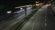 Stock Video Footage of car traffic timelaps loop