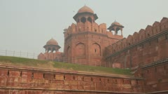 Red Fort Stock Footage