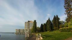 Madison Park Morning - 1080p HD Stock Footage