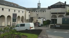 Falmouth Town, Cornwall, England Stock Footage