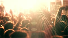 Concert Arena stage ( Series 3 - Version from 1 to 12 ) Stock Footage