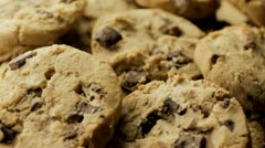 Close up Cookies Stock Footage