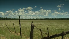 Old West Prairie - stock footage