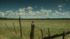 Stock Video Footage of Old West Prairie