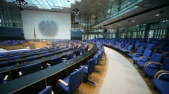 Old Parliament in Germany (Bonn) Stock Footage