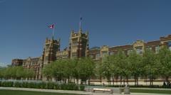 Architecture, Calgary, SAIT Heritage Hall, #1 Stock Footage