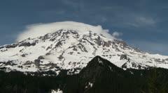 Mt Rainier time lapse Stock Footage