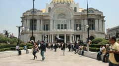 Bellas Artes Palace Stock Footage