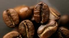 Roasting coffee Stock Footage