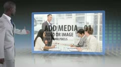 Stock After Effects of Presenting Media