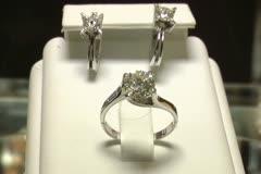Diamonds - stock footage