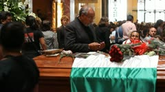 Carlos Fuentes funeral Stock Footage