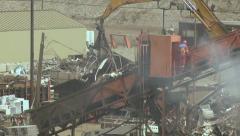 Scrap Yard 02 Stock Footage
