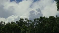 Storm building, Southern Queensland Stock Footage