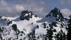 Tatoosh Range, Mt Rainier National Park Stock Footage