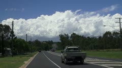 Traffic on highway, Sth Queensland Australia Stock Footage