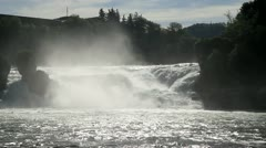 Rhine Falls. Northern Svitserland. Europe. Stock Footage
