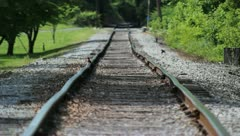 Heat on the Tracks Stock Footage