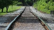 Heat on the Tracks Stock Footage