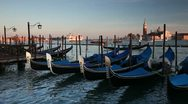Stock Video Footage of St Mark's Square  San Giorgio Maggiore Island, Venice, Italy