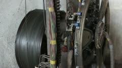Traction Elevator Mechanism _12 Stock Footage